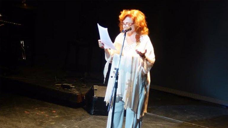 Finzi fue parte de los festejos por el día mundial del teatro. El día mundial del teatro se celebró en el Cervantes.